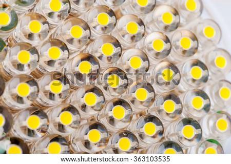 LED lamp. Photo Close-up - stock photo