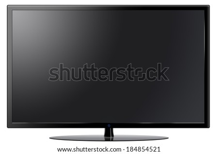 LED, LCD, Plasma, TV, Monitor  - stock photo