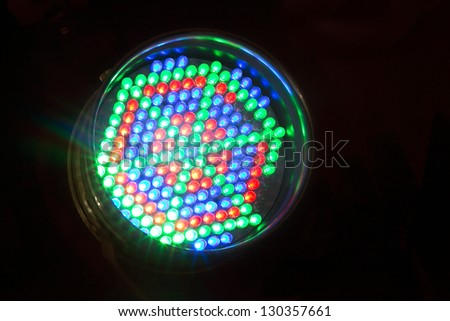 Led Light - stock photo