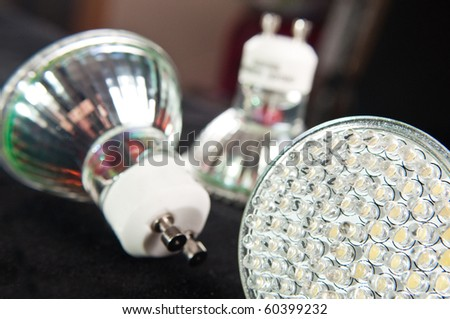 led light bulb - stock photo