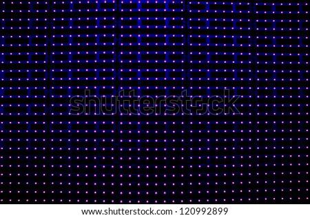 led light stripes - stock photo