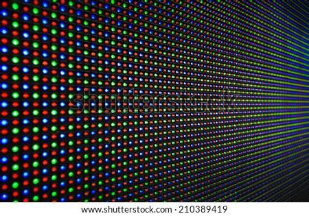 LED RGB background texture - stock photo