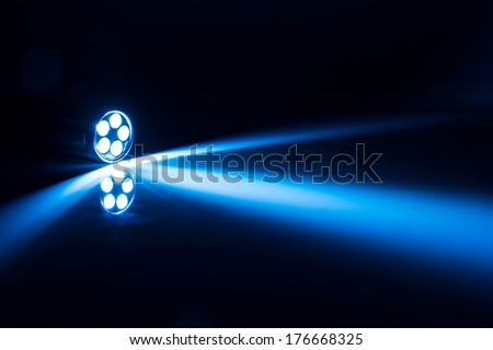 LED torch light - stock photo