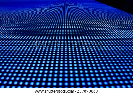 LED vertical screen background - stock photo