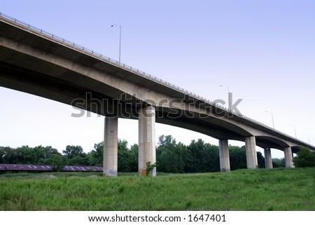 Lee Bridge Side - stock photo