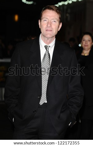 "Lee Child arrives for the ""Jack Reacher"" premiere at the Odeon Leicester Square, London. 10/12/2012 Picture by: Steve Vas"