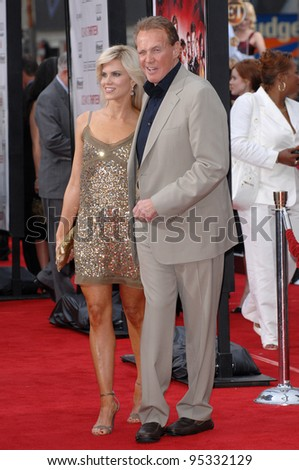 "Lee Majors & wife Faith Majors at the North American premiere of ""Ocean's Thirteen"" at Grauman's Chinese Theatre, Hollywood. June 6, 2007  Los Angeles, CA Picture: Paul Smith / Featureflash"