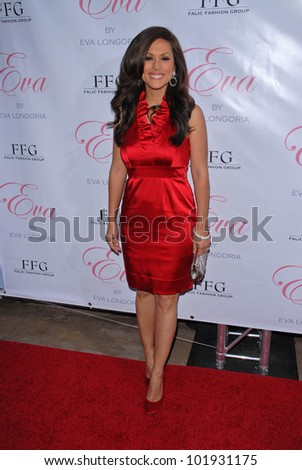 "Leeann Tweeden  at the Eva Longoria Parker Fragrance Launch Party For ""Eva,"" Beso, Hollywood, CA. 04-27-10"