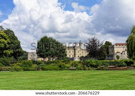 Leed's castle (England) - stock photo