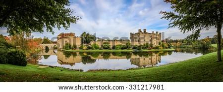Leeds Castle, Kent, England - stock photo