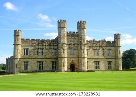 leeds castle, united kingdom  - stock photo