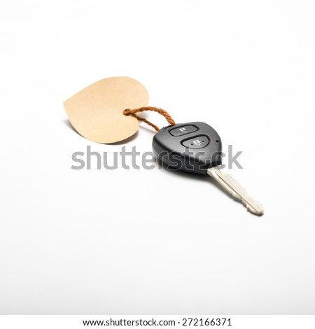 left hand holding screwdriver isolated on white background