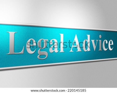 Legal Advice Showing Attorney Faq And Legislator - stock photo