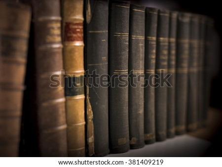 legal books background - stock photo