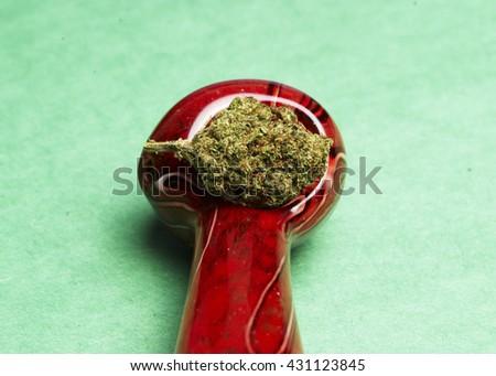 Legal Marijuana  - stock photo