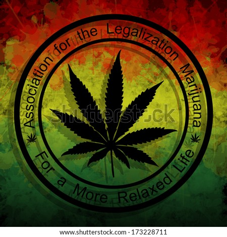 Legalization of Marijuana - stock photo