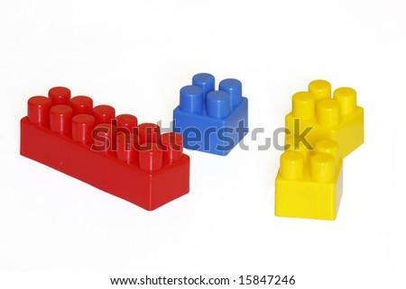 Lego blocks - stock photo