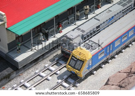 Lego Train Stock Images, Royalty-Free Images & Vectors | Shutterstock