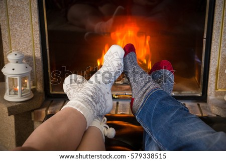 Cozy By The Fireplace Cozy Fireplace Stock Images Royaltyfree Images & Vectors
