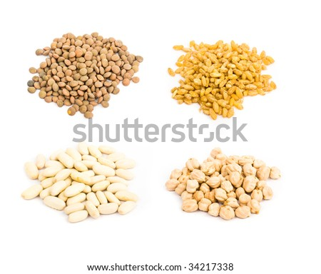 legume collection isolated