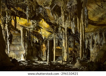Lehman Caves National Monument. Great Basin National Park, Nevada