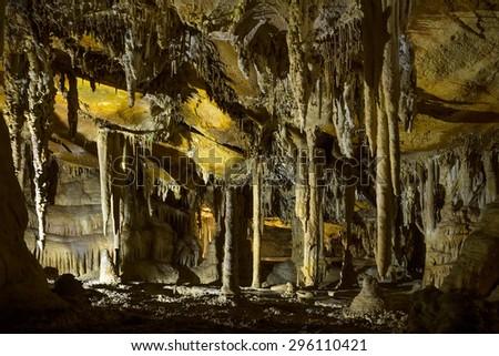 Lehman Caves National Monument. Great Basin National Park, Nevada - stock photo