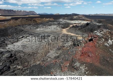 Leirhnjukur - Iceland - stock photo