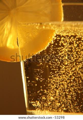 lemo drink - stock photo