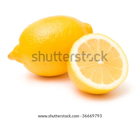 lemon and its half