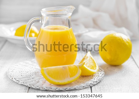Lemon juice  - stock photo