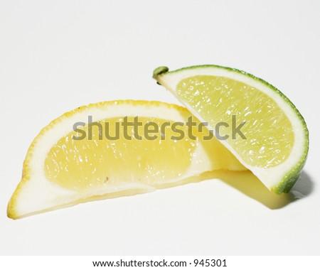 Lemon & Lime - stock photo