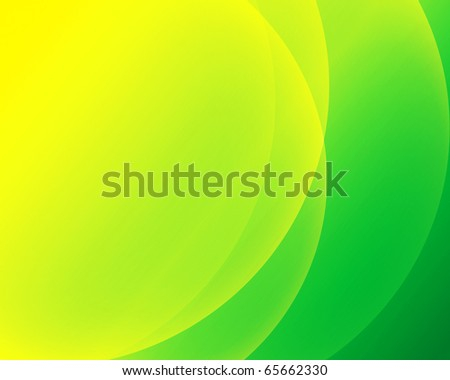Lemon lime curves - stock photo