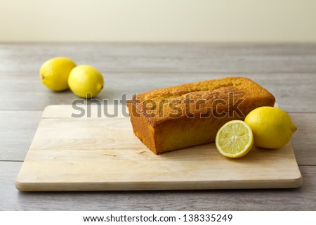 Lemon Loaf unglazed