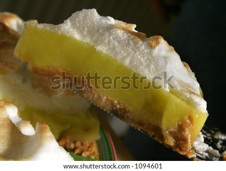 lemon meringue - stock photo