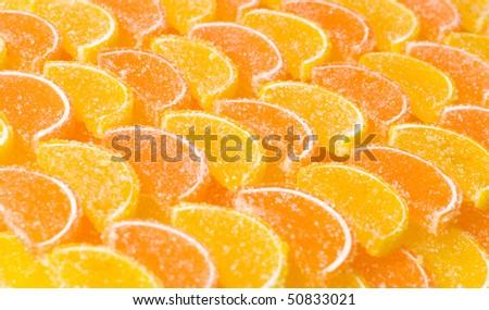 Lemon segments - stock photo
