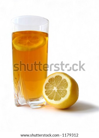 Lemon tea.