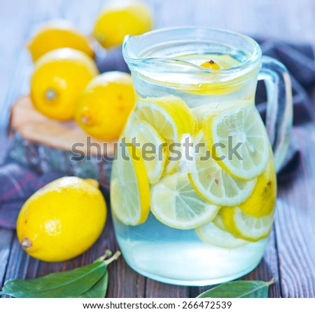 lemonad - stock photo