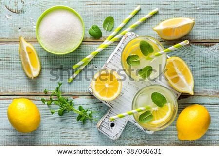 lemonade - stock photo