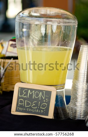 Lemonade dispenser