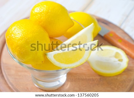 lemons - stock photo