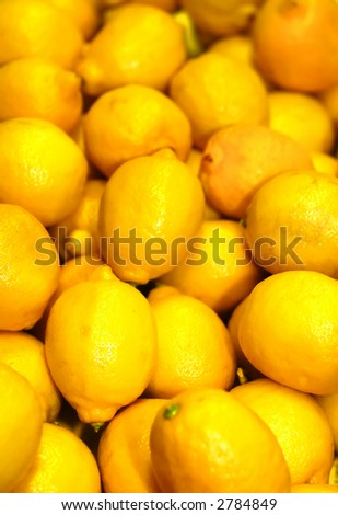 Lemons, lots and lots of lemons