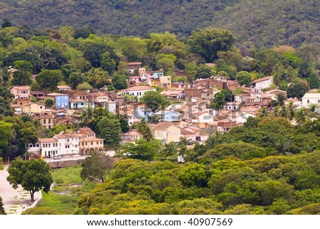 Lencois city, Chapada Diamantina - Brazil - stock photo