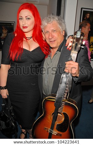 """Lenora Claire and Smokey Miles EXCLUSIVE at Julie Newmar ~A Life in Motion"""" at the David  W. Streets Gallery, Beverly Hills, CA. 11-08-09 - stock photo"""