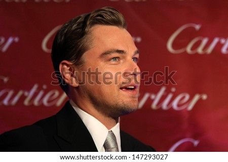 Leonardo DiCaprio arriving at the 20th Annual Palm Springs Film Festival Awards Gala at the Palm Springs Convention Center in Palm Springs, CA on  January 6, 2009