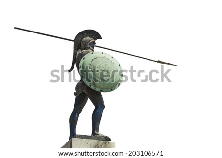 Leonidas,King of Sparta  - stock photo