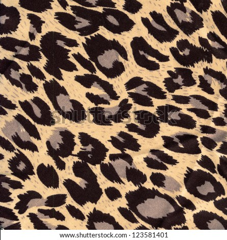 leopard  as background