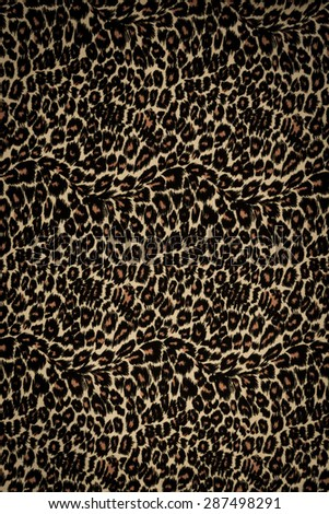 Leopard background - stock photo