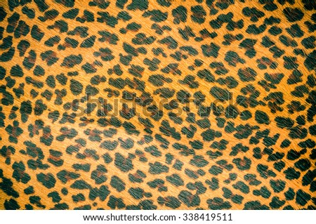 Leopard leather for background. - stock photo