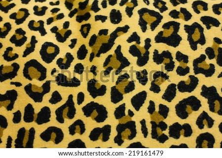 Leopard Pattern - stock photo