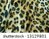 Leopard pattern silk texture, background - stock photo